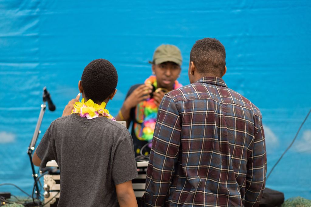 Luau Event at Armstrong University