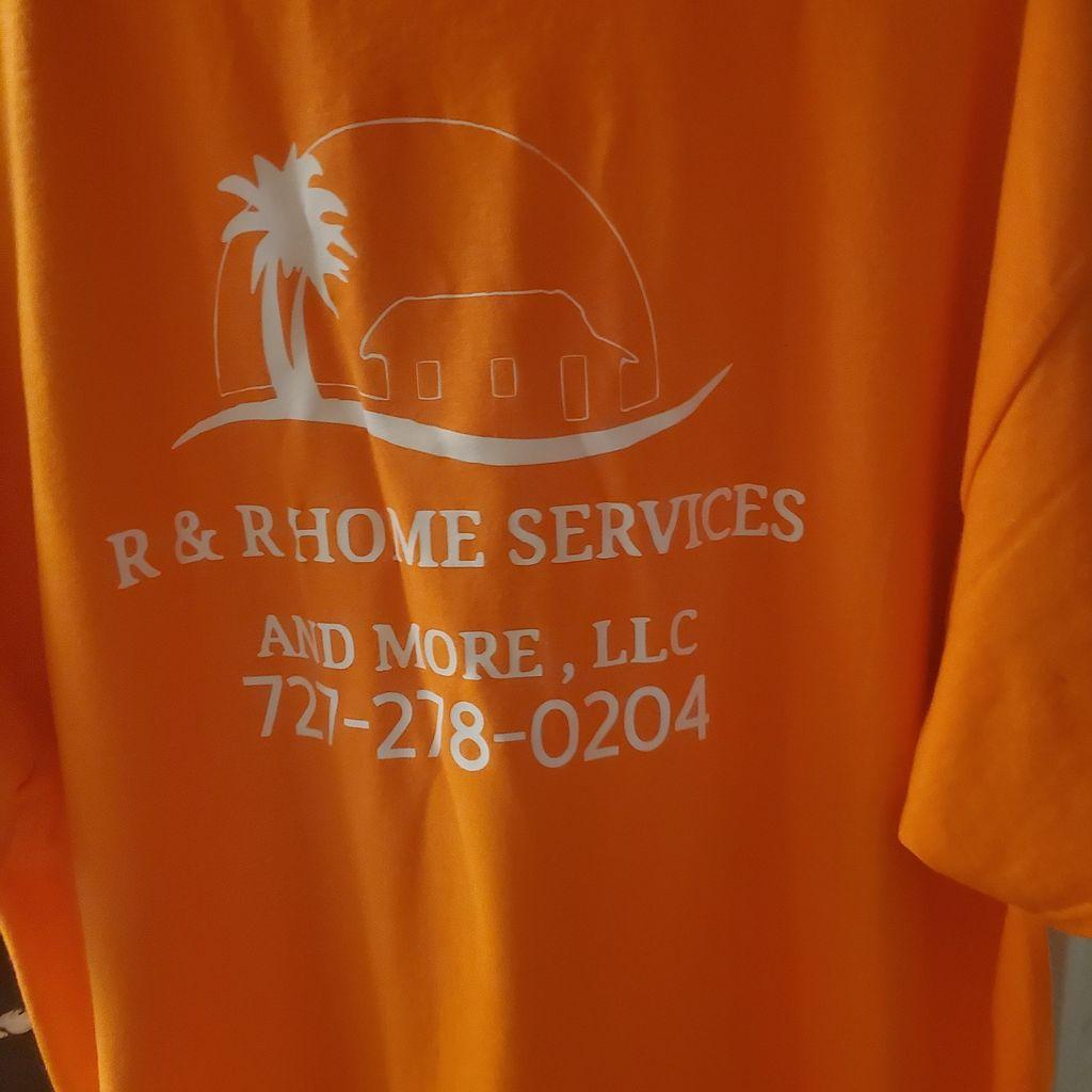 R&R Home services&more llc.
