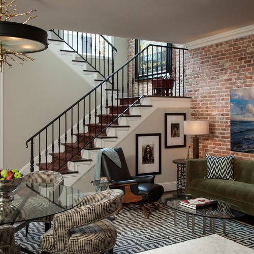 Custom Designed Two story guest quarters - The Bungalows of Hotel ZAZA - Dallas
