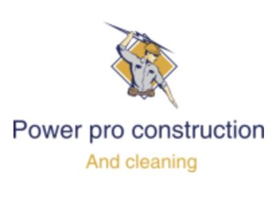 Avatar for Power Pro Construction and cleaning.