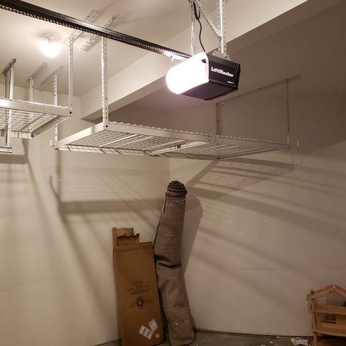 4' x 8' Overhead Garage Storage Rack