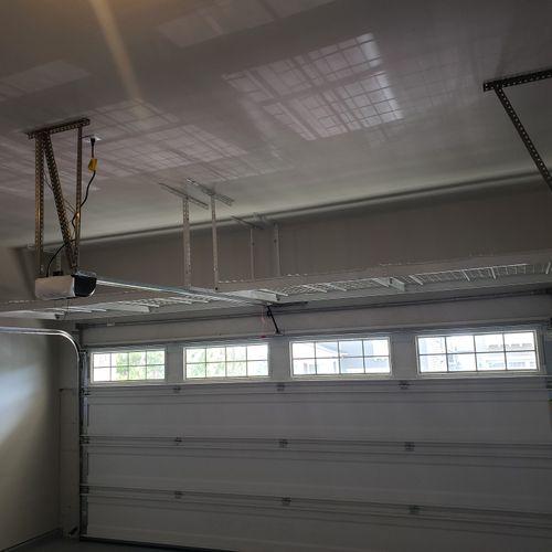 Garage Storage Racks Above Garage Door