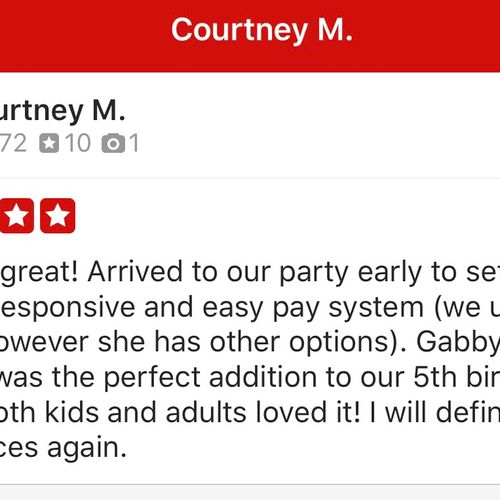 That Makes it 30 Yelp Reviews!!! Thank You!!!