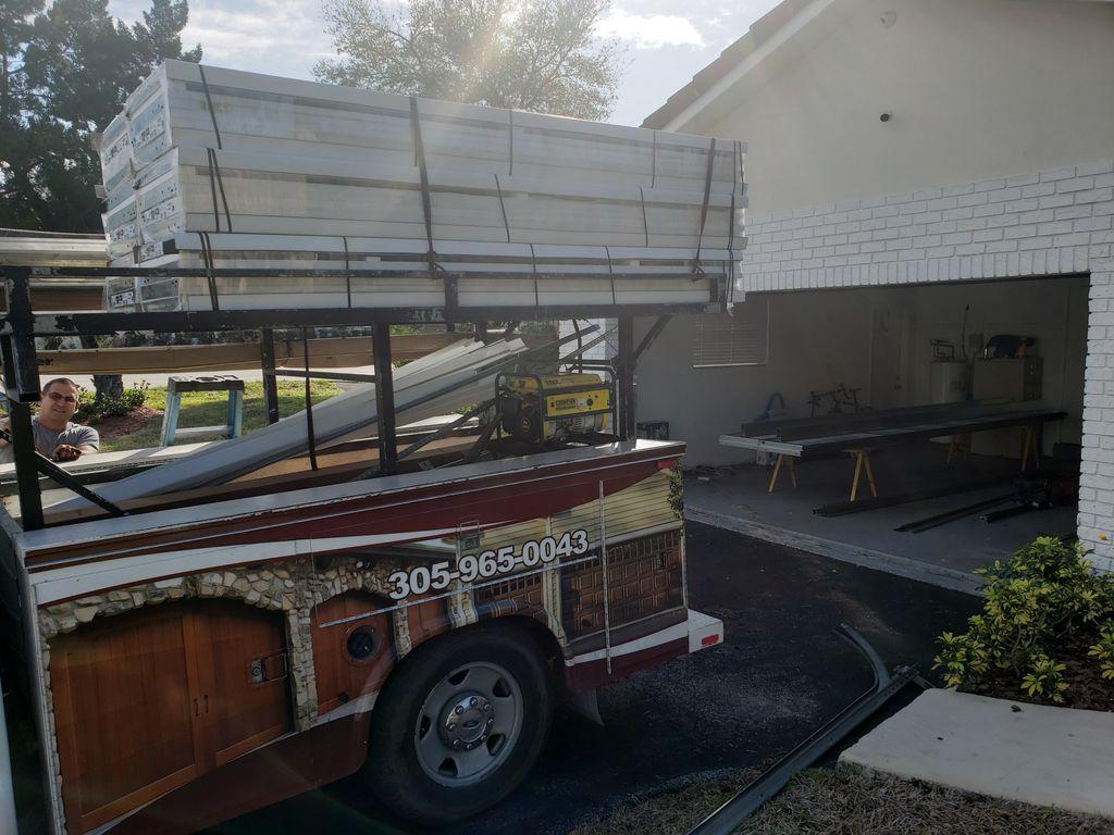 Impact-resistant garage door installation