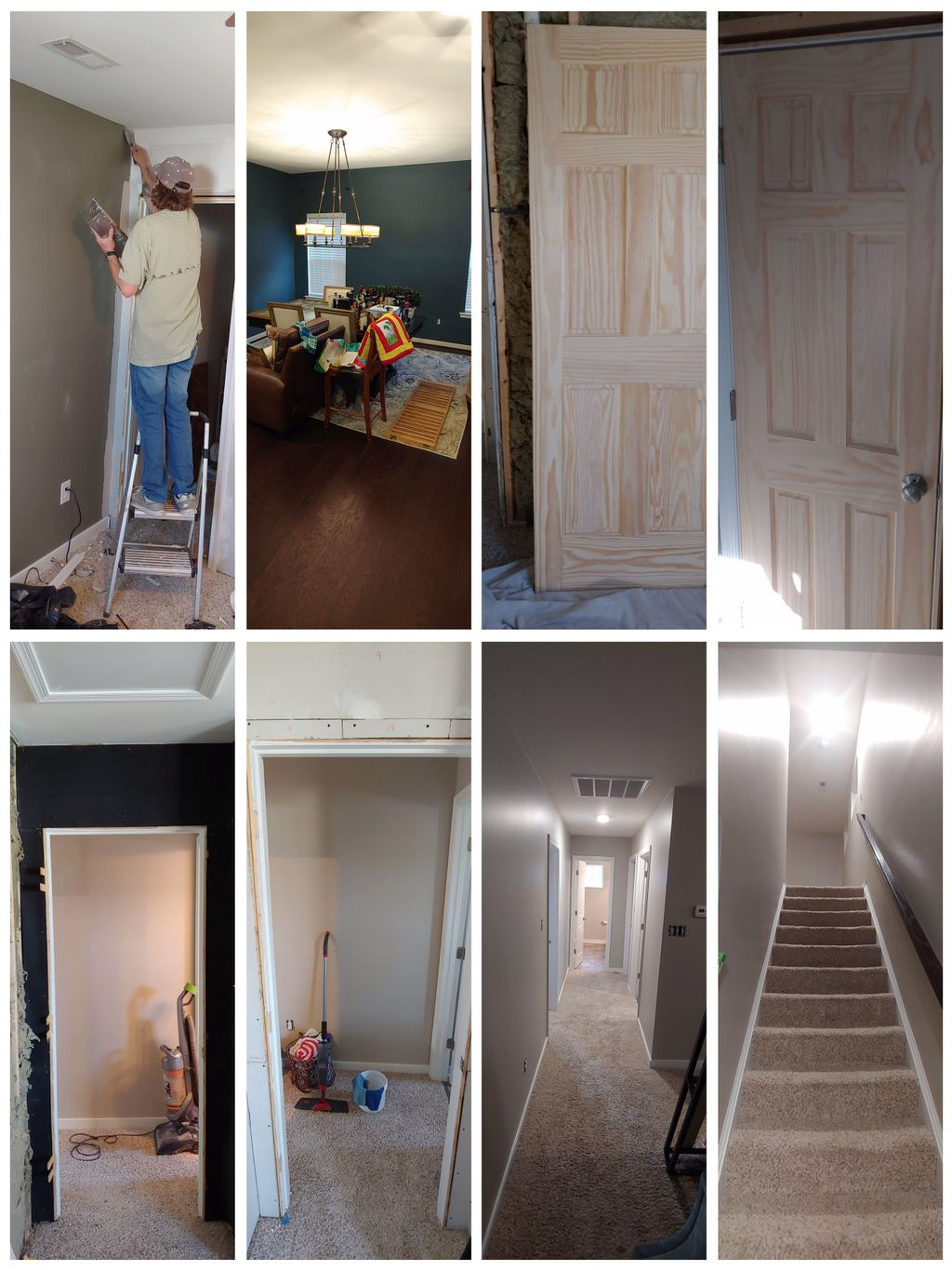 Interior paint and sound proof office 2400sqft