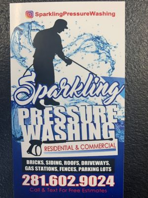 Avatar for Sparkling Pressure Washing