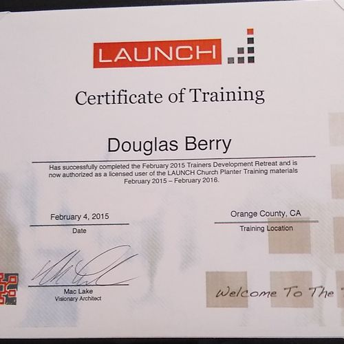 certified launch coach, process of launching anything creating vision values and strategy