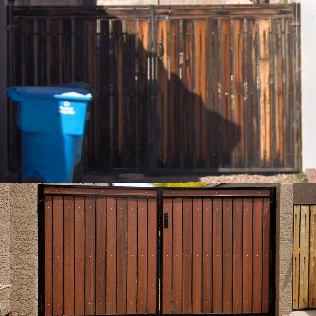 Gate refurbishment and repairs