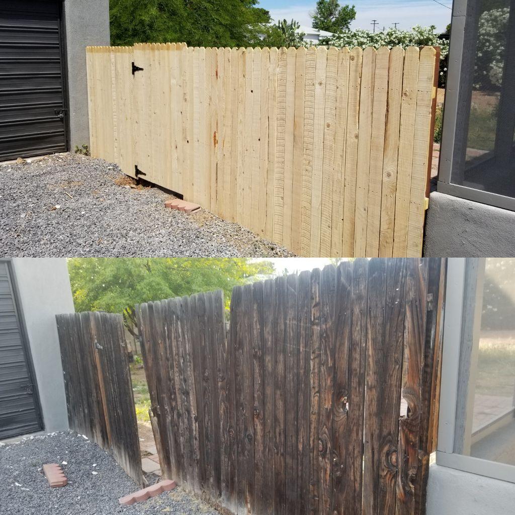 Rv gates, side gates, and wood fencing