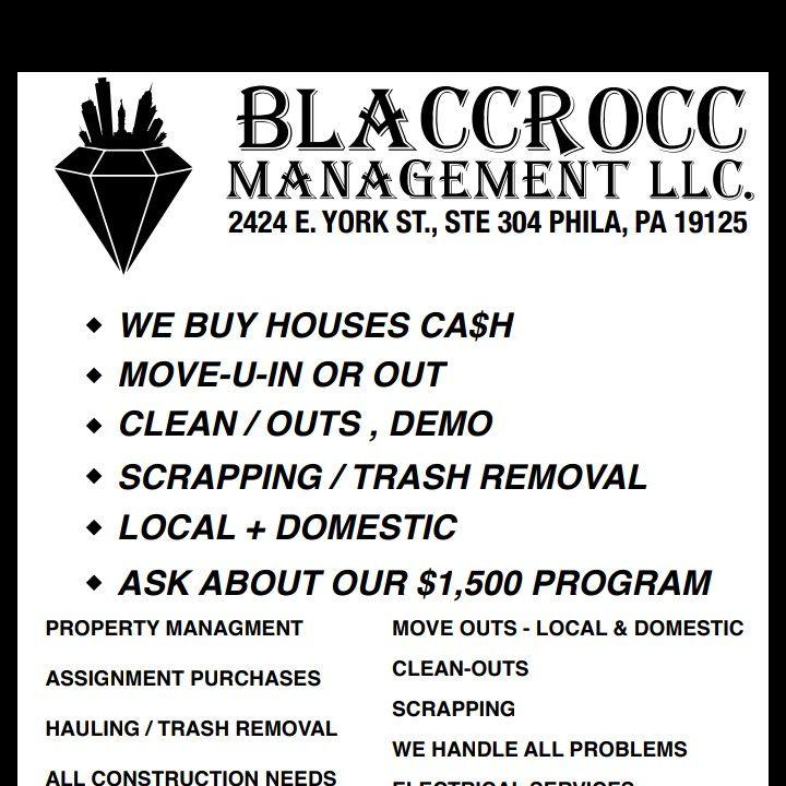 BLACCROCC MANAGEMENT LLC.