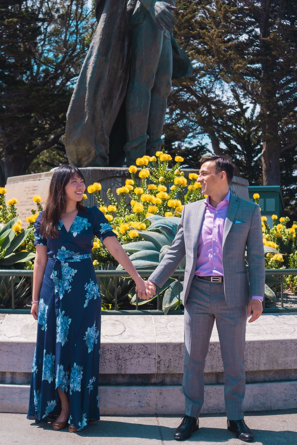 Coit Tower Engagement Shoot