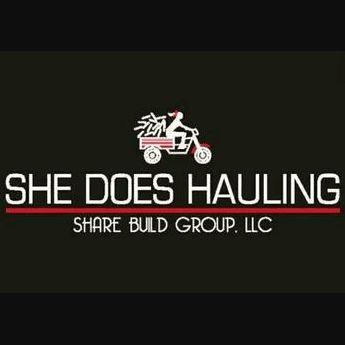 SHE DOES HAULING