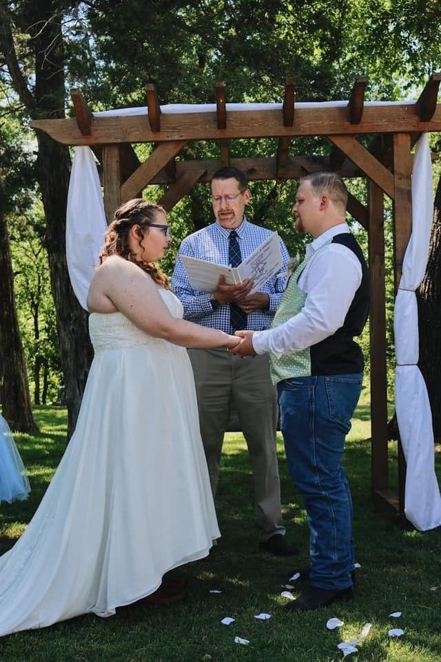 Outdoor Wedding- Blose Barn and Gardens