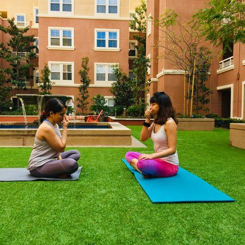Pranayam - Breathing Exercise