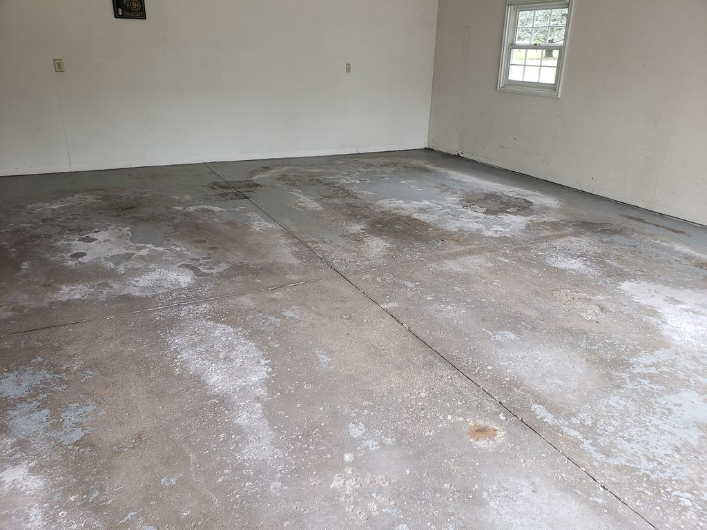 Garage Floor Makeover