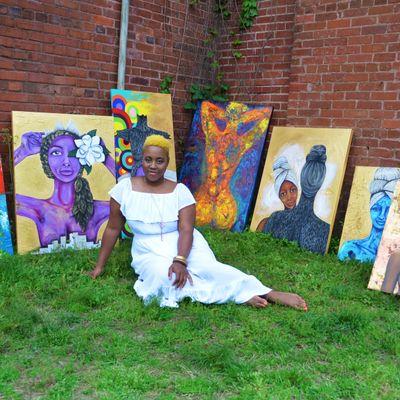Avatar for Murals by Ashli Ognelodh Atlanta, GA Thumbtack