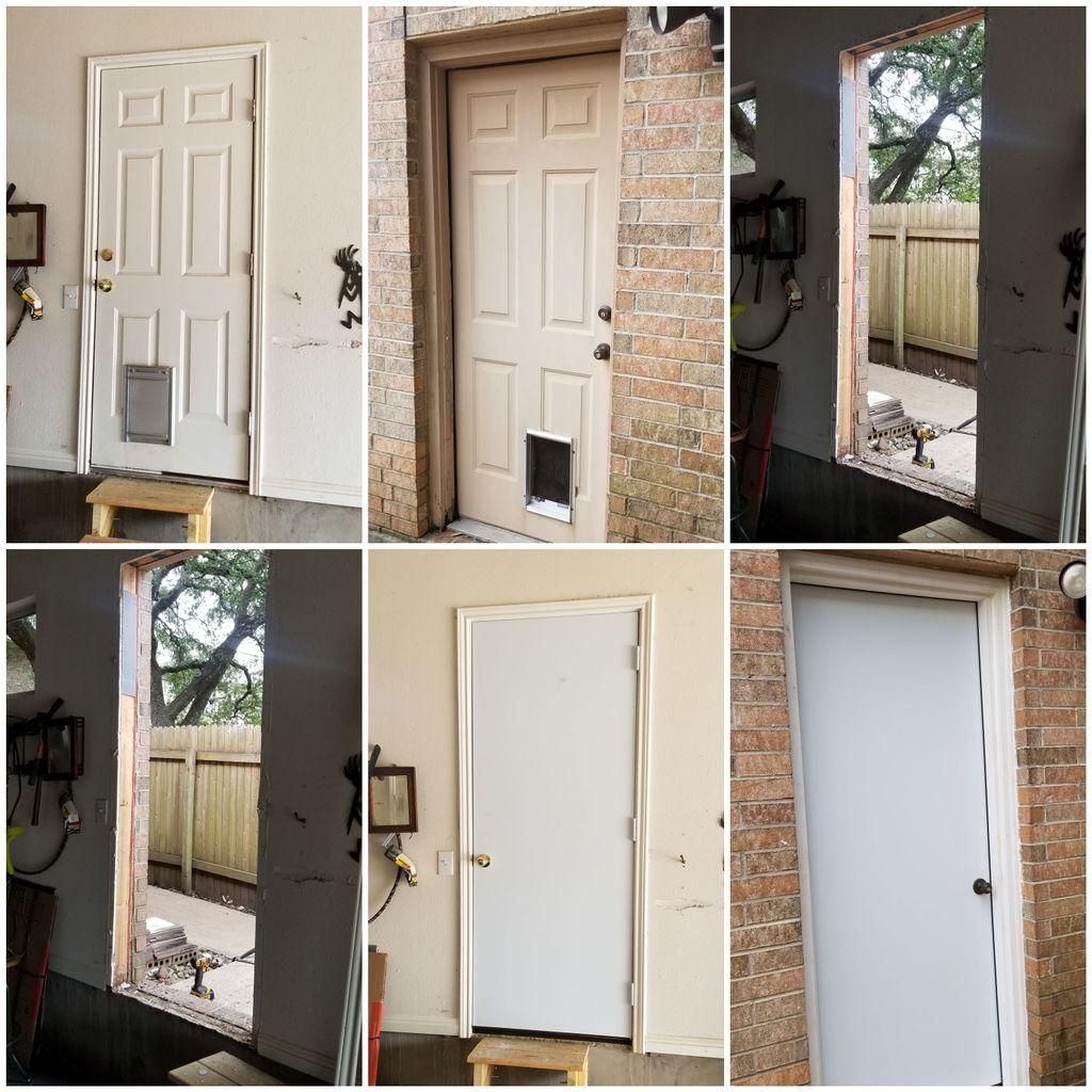 Door installs