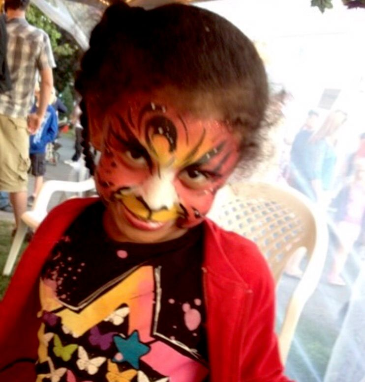 Face Painting by Ms. Erna