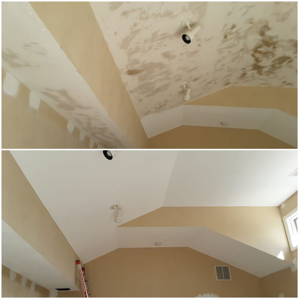 Pop corn ceiling removal