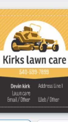 Avatar for Kirks lawn care Pembroke, VA Thumbtack