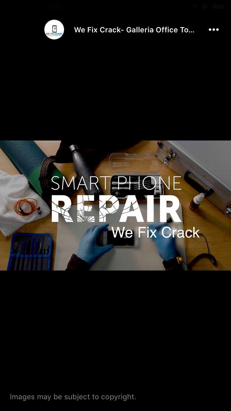 We Fix Crack