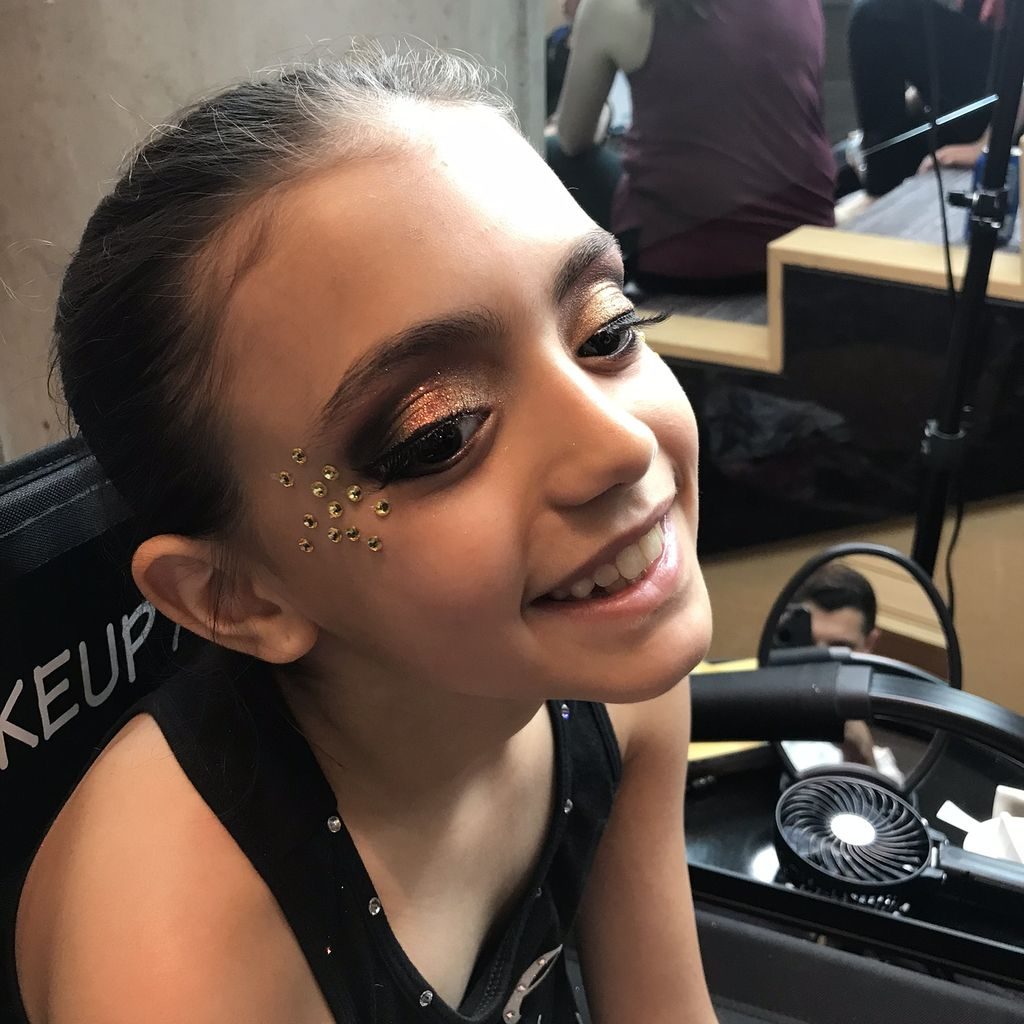 Star Power Dance Competition Make-up