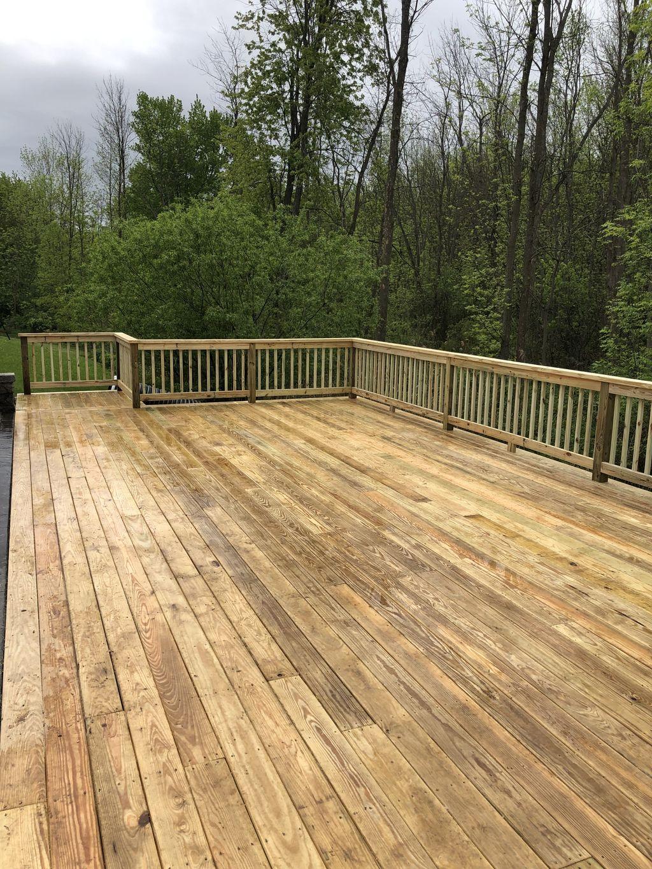 New deck install