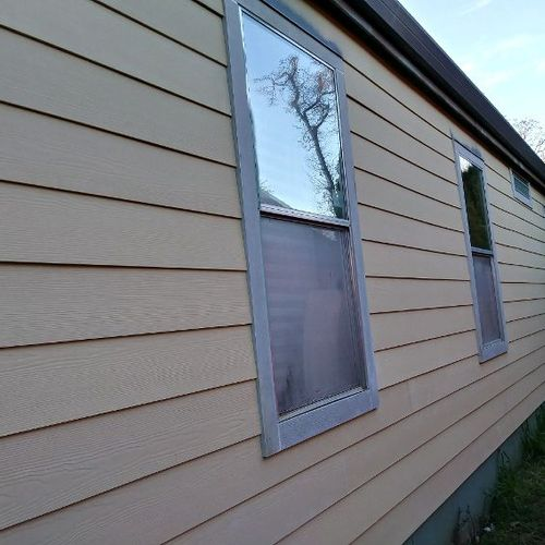 new Hardi on a manufactured home