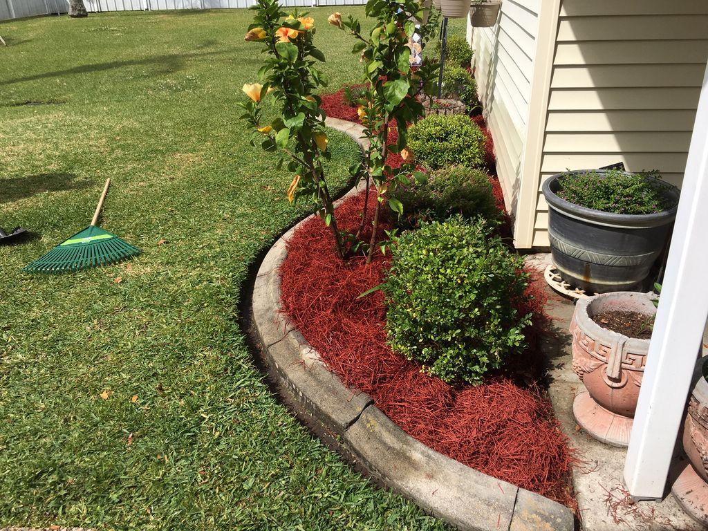 Flowerbed Weeding and Mulching