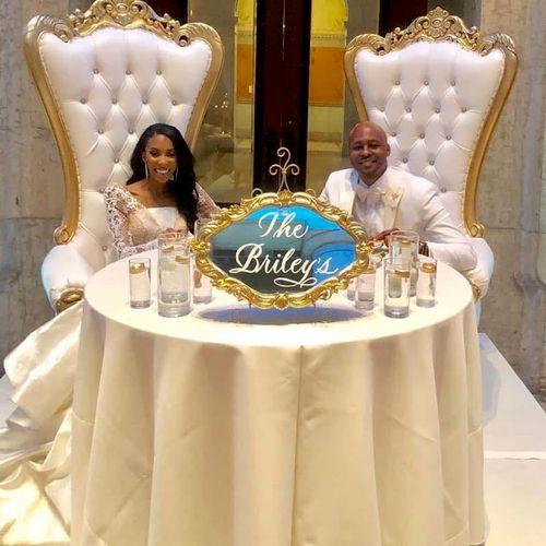 Wedding Reception for Nicolas and Lauren at the Ohio Statehouse Atrium