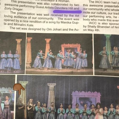 My name is in the Newspaper 💜