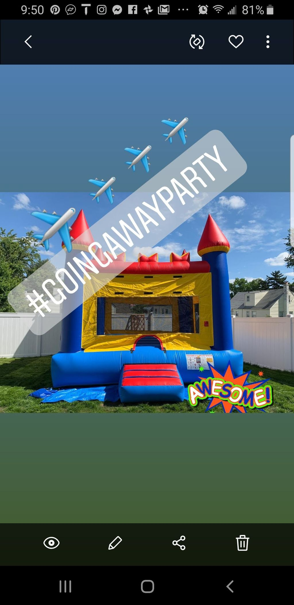 23 year old going away Party