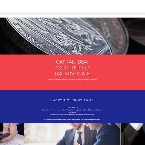 Website for Tax Attorney