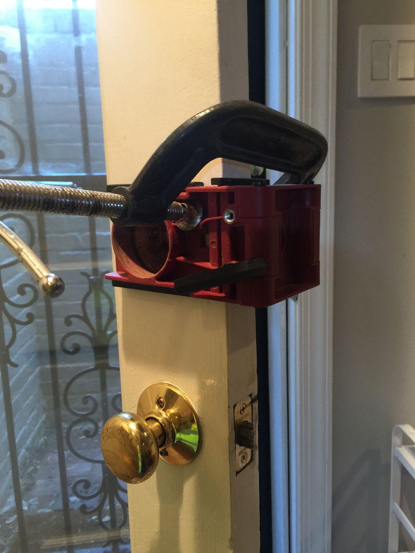 Digital lock installation