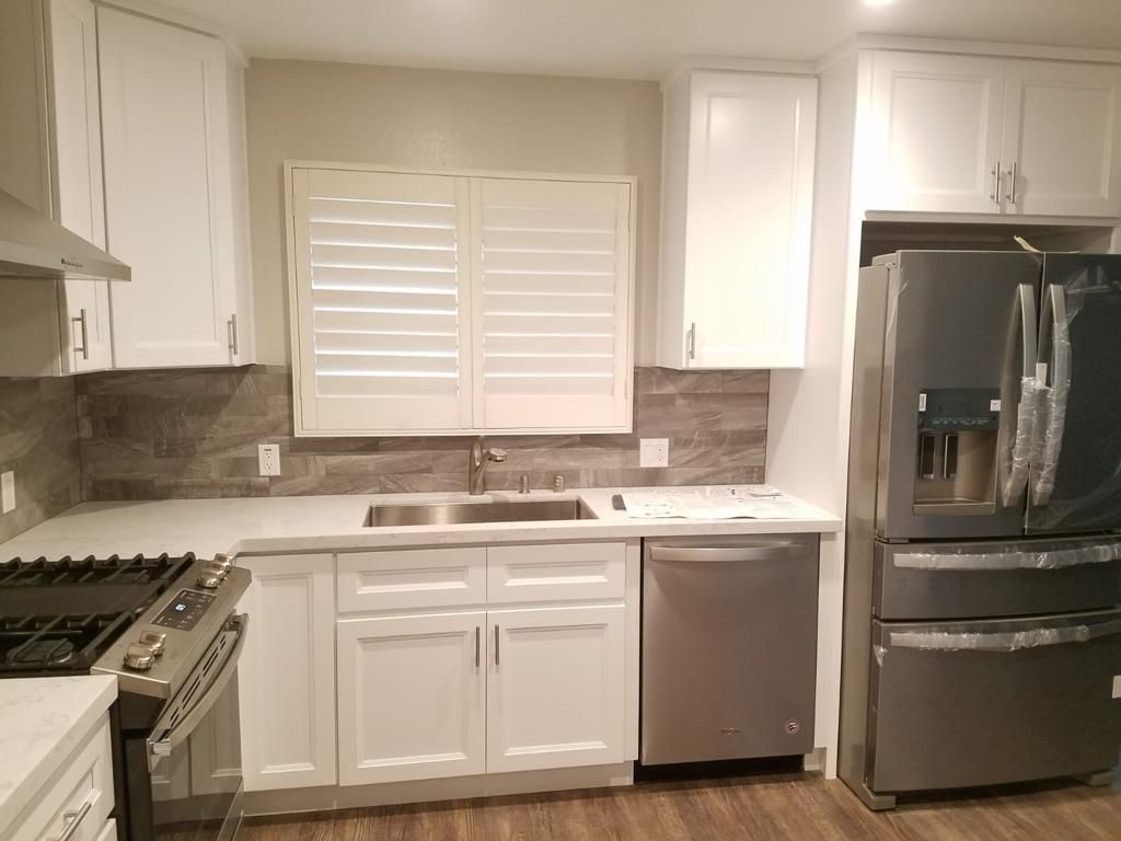 Kitchen remodel and Flooring