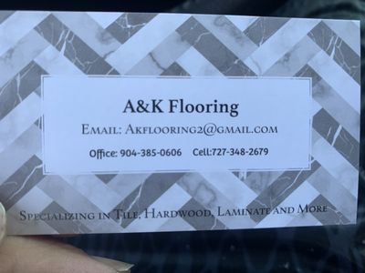 Avatar for A&K Flooring Saint Johns, FL Thumbtack