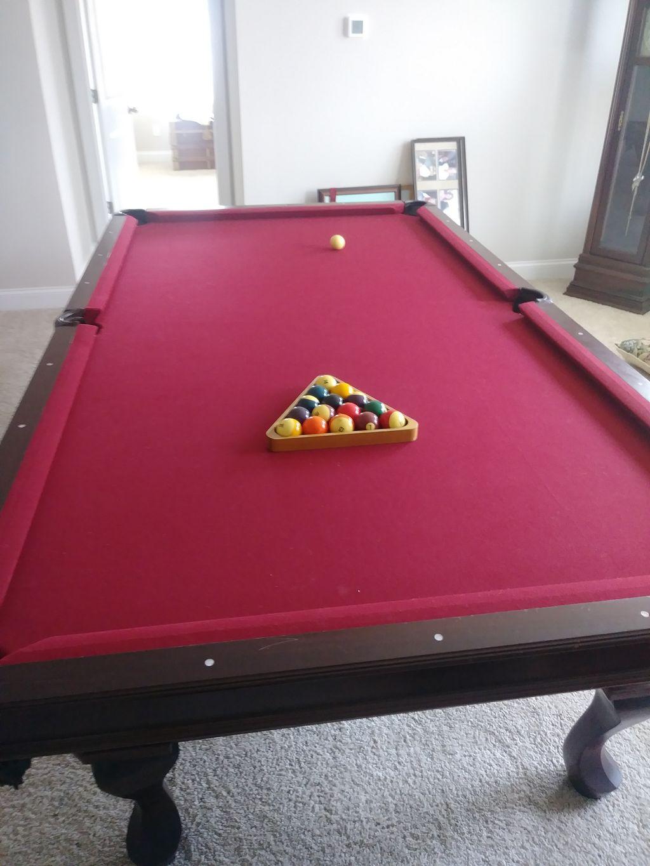 Pool Table Moving - Bamberg 2019