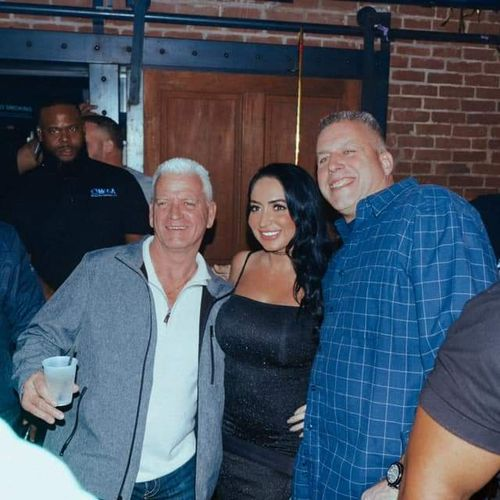 Bodyguards for Angelina Pivarnick of 'The Jersey Shore'