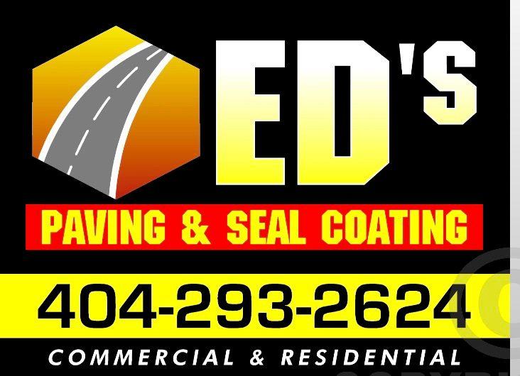 Ed's paving&sealcoating
