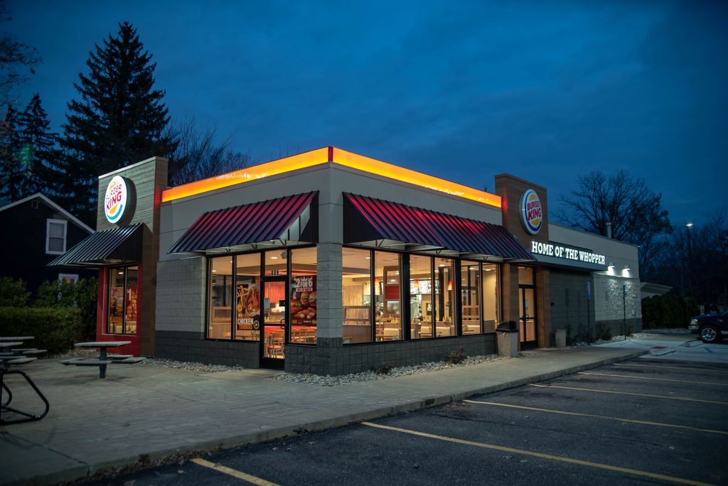 Burger King New Design