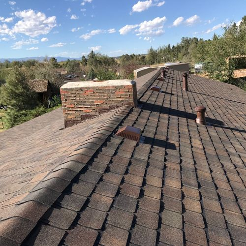 Certainteed Belmont Shenandoah Shingles - they are high grade!