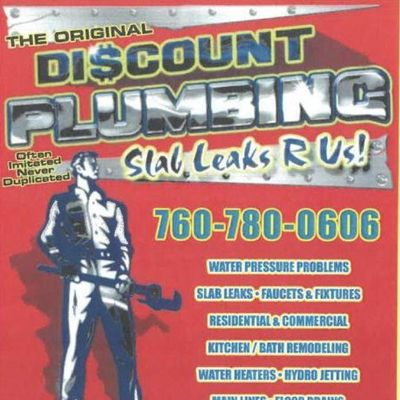 Avatar for Discount Plumbing Victorville, CA Thumbtack