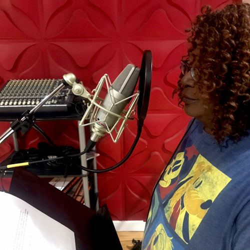 Recording voiceover for several  commercials. And working on album