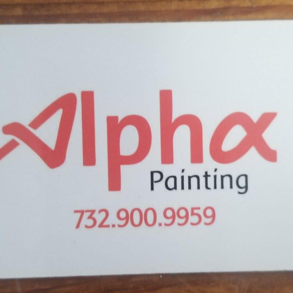Alpha paint