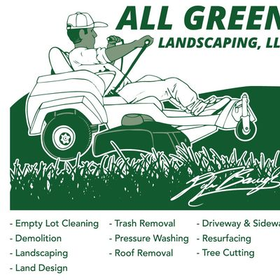 Avatar for All Green Landscaping LLC Weaver, AL Thumbtack