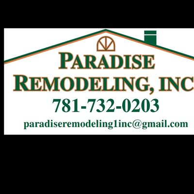 Avatar for Paradise remodeling inc.