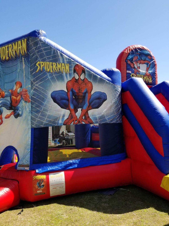 Spider-Man Backyard Birthday Party