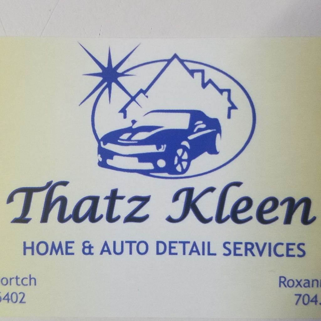Thatz Kleen Home and Auto Detailing Services