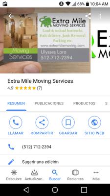 Avatar for EXTRA MILE MOVING SERVICE Austin, TX Thumbtack