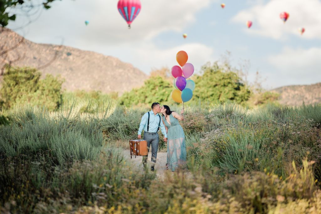 Temecula Valley Balloon Festival Engagement